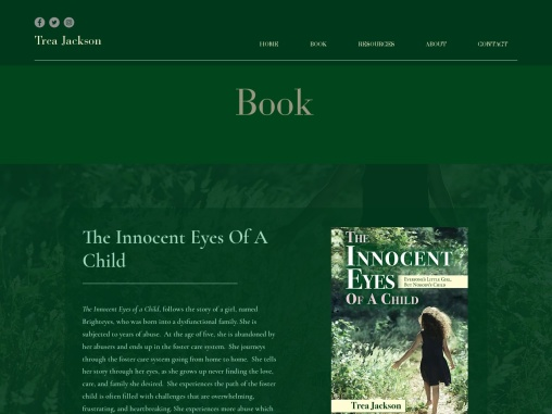 The Innocent Eyes Of A Child by Trea Jackson