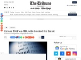Emaar MGF ex-MD, wife booked for fraud