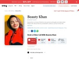 Get personalized messages and videos from Beauty Khan