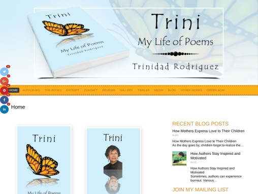Trini: My Life of Poems by Trinidad Rodriguez