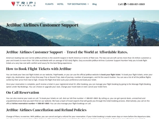JetBlue Airlines | Grab Expert Made Deals on Flight Bookings!
