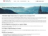 Incredible Flight Deals and Easy Flight Reservations to Toronto