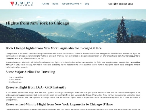 Book Cheap Flights from New York to Chicago