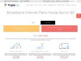 Broadband Internet Plans in Sector 82 Noida