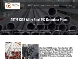 ASTM A335 P12 Alloy Steel Seamless Pipes Supplier