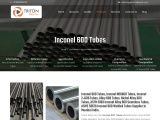 Inconel 600 Tubes Supplier in india