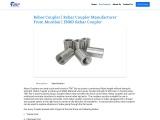 Rebar Coupler | TRP Machines And Tools