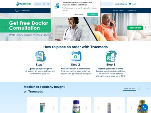 Truemeds: Medicines Online – India's Most Trusted Online Pharmacy