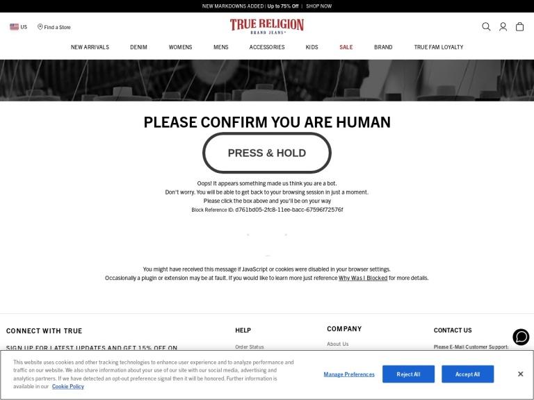 True Religion (Global) screenshot