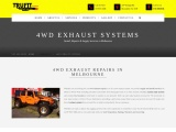 4×4 Exhaust Systems Repairs & Installation