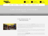 Car Exhaust Systems in Melbourne
