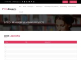 Btech CSE Mini Deep Learning Live Projects for Final Year Students
