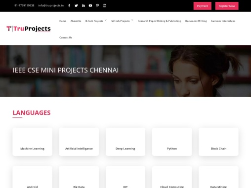 Real Time Academic Live CSE Mini Projects for IEEE Students in Chennai