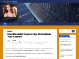 To develop a doctoral degree programs