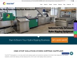 Hydro dipping supplier; hydro dipping equipment supplier