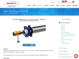 Pipe Beveling Machine | Pipe Cutting and Beveling Machine