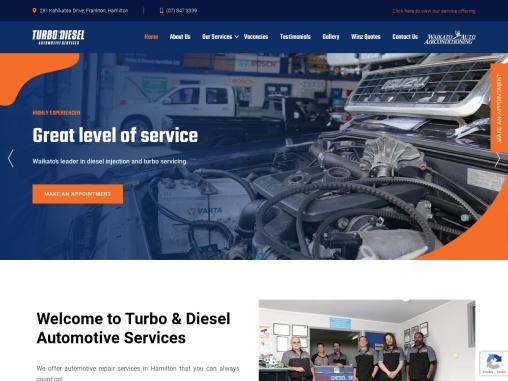 Turbo&Diesel Automotive Services – Vehicle maintenance service Hamilton