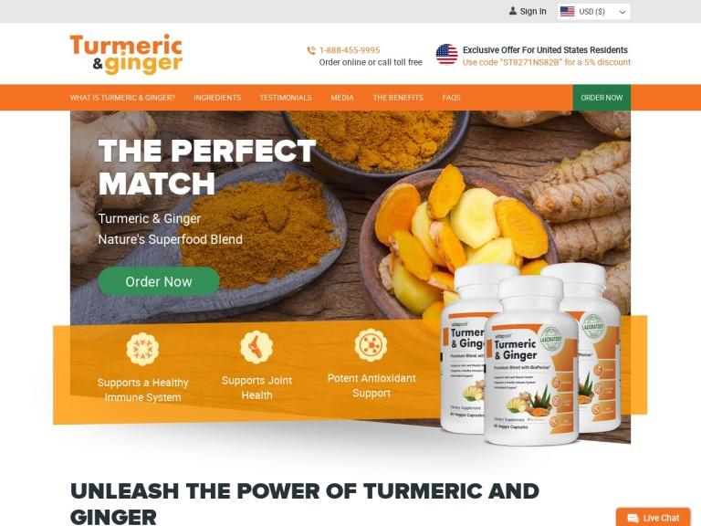 Turmeric & Ginger screenshot