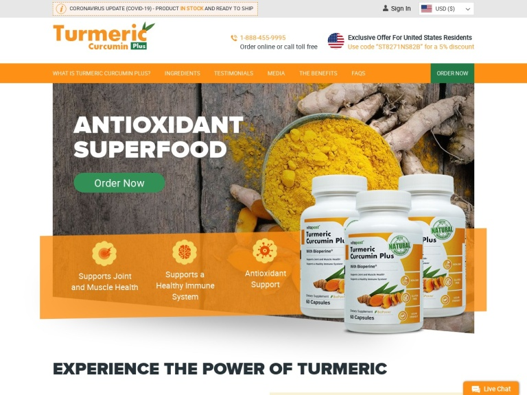 Turmeric Plus screenshot