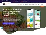 Grofers like app development | Grofers clone app development | Grocery delivery script