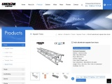 12 inch aluminum square box truss For Sell-SHIZHAN Group