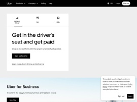 Online store Uber