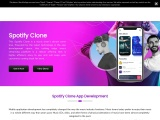 Go with the script solution for the Spotify clone app development