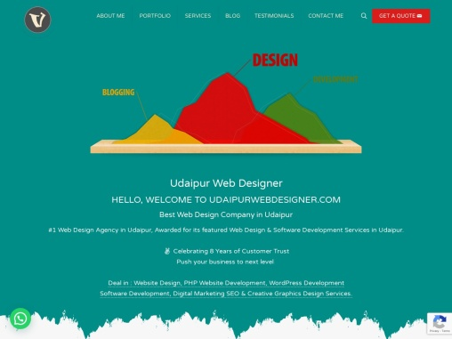 Vikram Chouhan – Udaipur Web Designer, Web Design Company in Udaipur, WordPress Expert Udaipur