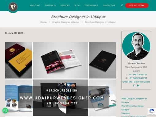 Brochure Designer in Udaipur, Brochure Designing Service, Graphic Designer Udaipur