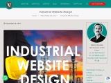 Industrial Website Design,Manufacturing Company Website Development