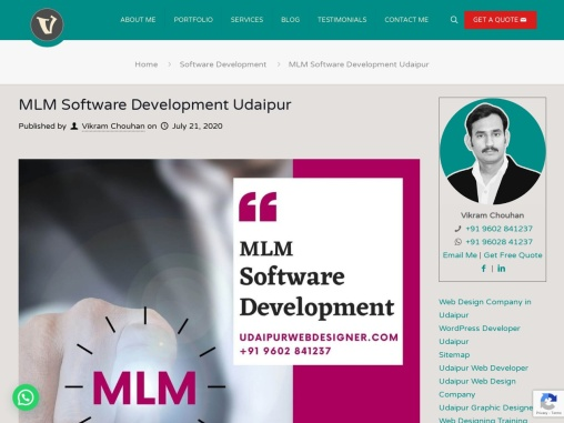 MLM Software Development Udaipur, MLM Development Company Udaipur, Rajasthan