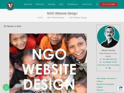 NGO Web Design,Nonprofit Website Design,Charity Website Design