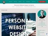 Personal Website Design Company, Personal Website Design India