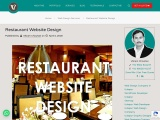 Restaurant Website Design, Restaurant Website Design Services In India