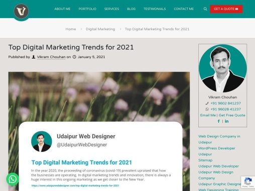 Top digital marketing trends for 2021, digital marketing tools