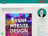 Wedding Planner Web Design, Event Planner Website Design