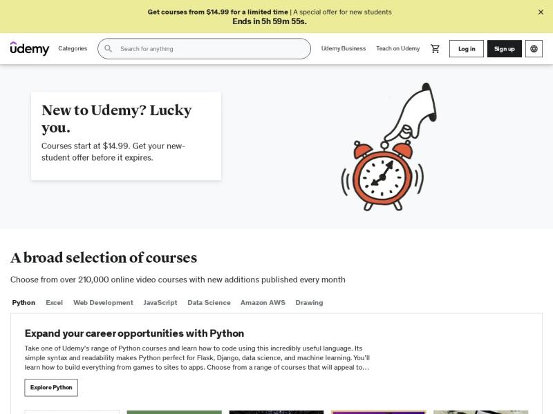 Udemy | 格安だけど充実したオンライン学習サイトでスキルを学び・身につける