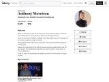 Anthony Morrison teaching 'how to build a successful online business'. Join Now!