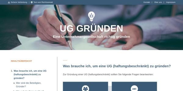https://www.ug-gruenden.info/