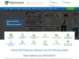 Online NHS Pharmacy Delivery from UK Pharmacy Meds