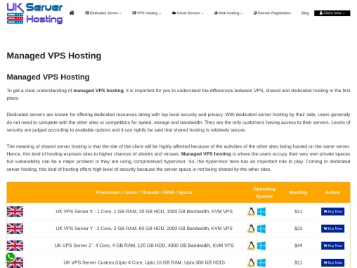 Grasp Managed VPS Hosting for Growing business