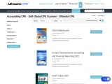Continuing Education for Accountants | Self-Study CPE Courses | Ultimate CPE