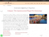 Destination wedding in Rajasthan : ultimateevent.in