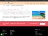 Honeymoon packeges for wedding: ultimateevent.in
