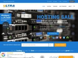 Ultra Web Hosting Coupons screenshot
