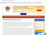 Andhra University Distance Education MBA Admission 2021-2022,Fees, Eligibility Criteria, Review