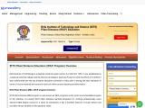 BITS Pilani Distance Education MBA Admission 2021-2022