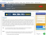 IIT Madras – Indian Institute of Technology | Info, Courses
