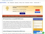 IMT Distance Education MBA (PGDM) Admission 2021
