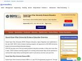 SGVU Distance MBA Admission Procedure